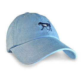 Guys Lacrosse Dog Hat - Carolina Blue