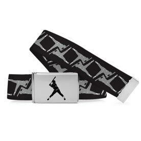 Softball Lifestyle Belt Player Pattern