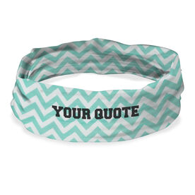 "RokBAND Multi-Functional Headband - ""Your Custom Quote"""