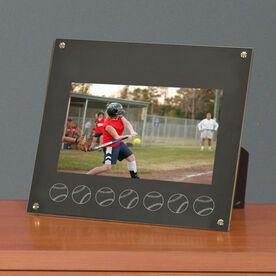 Softball Photo Display Frame Softball Ball