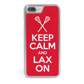 Lacrosse iPhone® Case - Keep Calm