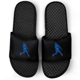 Baseball Black Slide Sandals - Batter