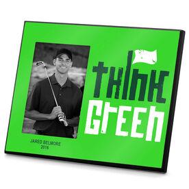Golf Photo Frame Think Green