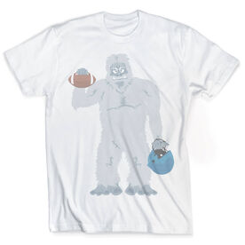 Vintage Football T-Shirt - Yeti To Play