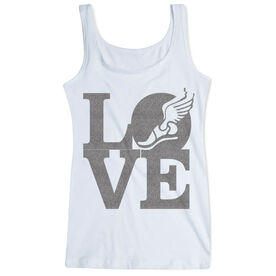 Cross Country Women's Athletic Tank Top LOVE