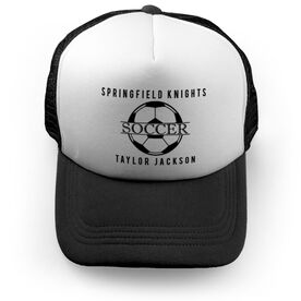 Soccer Trucker Hat - Personalized Crest