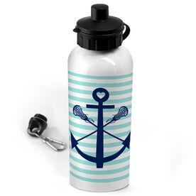 Lacrosse 20 oz. Stainless Steel Water Bottle Lacrosse Sticks Anchor