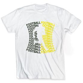 Football Tshirt Short Sleeve All Football