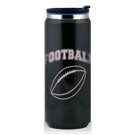 Stainless Steel Travel Mug Football Ball