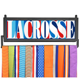 AthletesWALL Medal Display - Lacrosse Mosaic