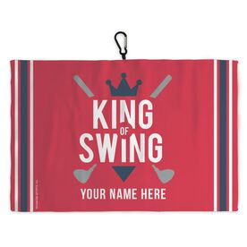 Golf Bag Towel King of Swing