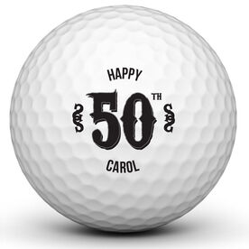 Personalized Birthday Ball Golf Ball