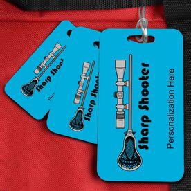 Lacrosse Bag/Luggage Tag Lacrosse Sharp Shooter