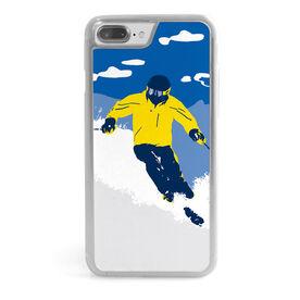Skiing iPhone® Case - Ski Hard