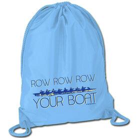 Row Row Row Your Boat Sport Pack Cinch Sack