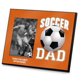 Soccer Photo Frame Soccer Dad