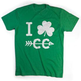 Cross Country Short Sleeve T-Shirt - I Shamrock Cross Country CC