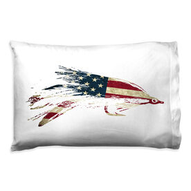 Fly Fishing Pillowcase - American Lefty