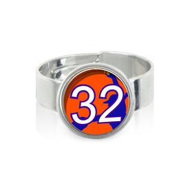 Softball Pitcher Your Number SportSNAPS Ring
