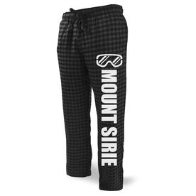 Skiing & Snowboarding Lounge Pants - Goggles Your Text Here