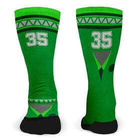 Customized Printed Mid Calf Team Socks Dakota