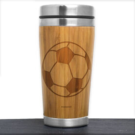 Bamboo Travel Tumbler Soccer Ball