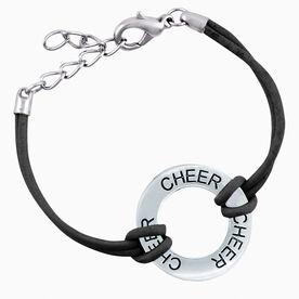 Cheer Message Ring Bracelet