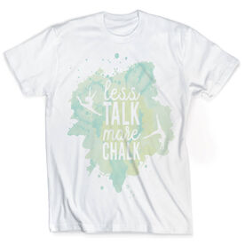 Vintage Gymnastics T-Shirt - Less Talk More Chalk
