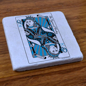The Queen of Hockey - Stone Coaster