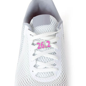 26.2 Marathon (Pink) - LaceBLING Shoe Lace Charm