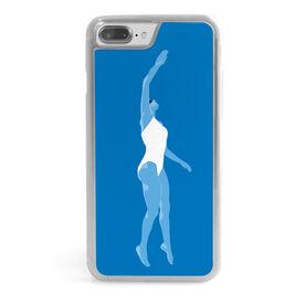 Swimming iPhone® Case - Swimmer Girl