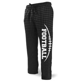 Football Lounge Pants Football Stitches with Football