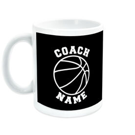 Basketball Ceramic Mug Coach