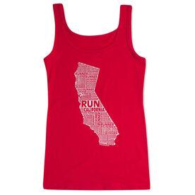 Women's Athletic Tank Top California State Runner