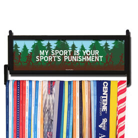 RunnersWALL My Sport Is Your Sports Punishment Medal Display