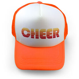 Cheer Trucker Hat Retro Cheer