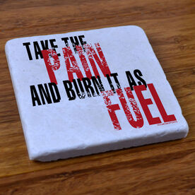 Take the Pain - Stone Coaster