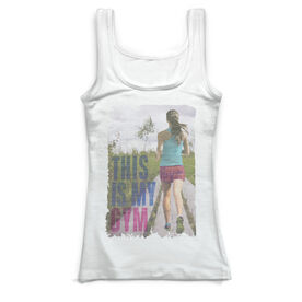 Running Vintage Fitted Tank Top - This Is My Gym