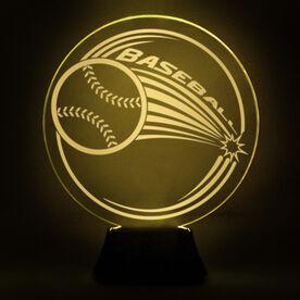 Baseball Acrylic LED Lamp Home Run