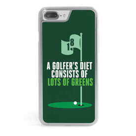 Golf iPhone® Case - A Golfer's Diet