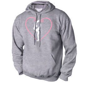 Figure Skating Standard Sweatshirt - Heart Skater