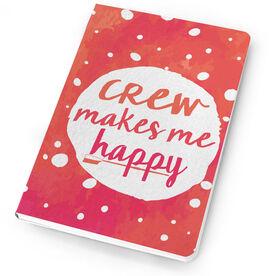 Crew Notebook Makes Me Happy