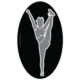 Cheer Oval Car Magnet Side Foot Grab