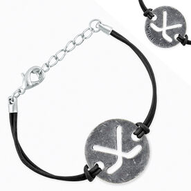 Hockey Token Cord Bracelet