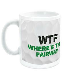 Golf Ceramic Mug WTF Fairway