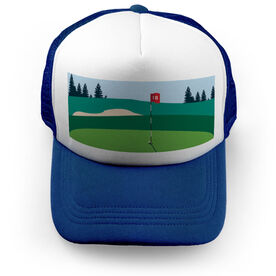 Golf Trucker Hat - The Eighteenth Hole