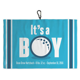 Golf Bag Towel Its A Boy