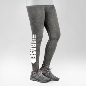 Softball Performance Tights All About That Base