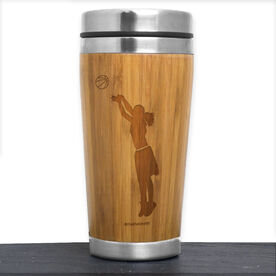 Bamboo Travel Tumbler Basketball Player Female