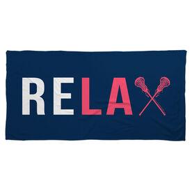 Lacrosse Beach Towel Relax